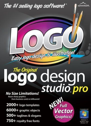 Logo Design Studio Pro Vector Download By Summitsoft Corporation Http Www Amazon Com Dp B004gjwzke Ref Design Studio Logo Logo Design Logo Design Software