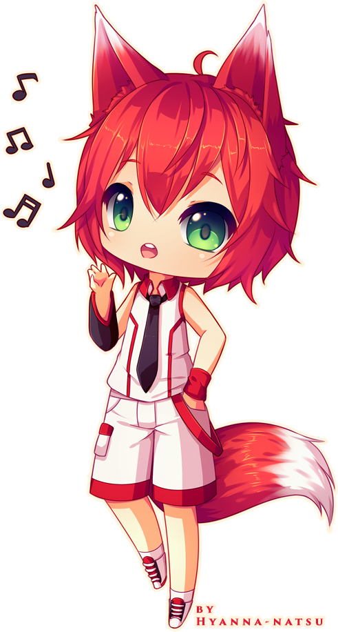Commission Kunkun By Hyanna Natsu On Deviantart Cute Anime Chibi Cute Chibi Chibi Boy
