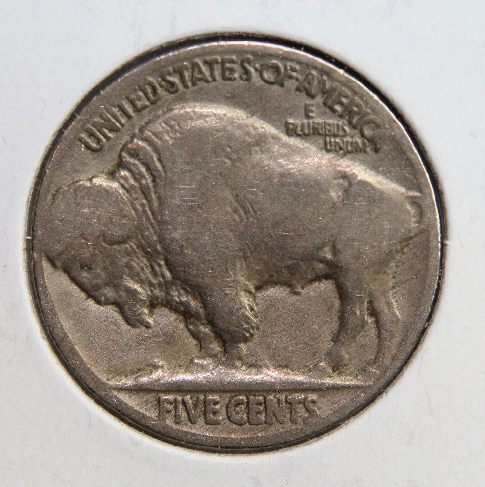 1924 Buffalo Nickel 5c Five Cent Circulated Coin Collectable!!! #165