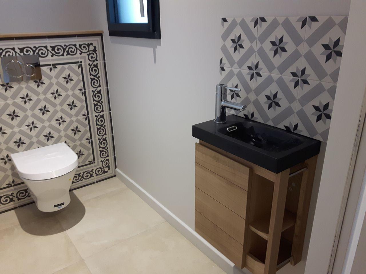 Plomberie ain wc terminé déco salle de bains