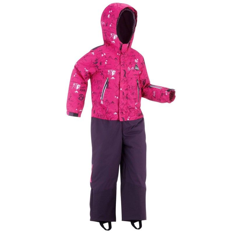 6b7de8e1f Wed'ze children's ski suit ski-p suit 500 pnf pink | Want: For the ...