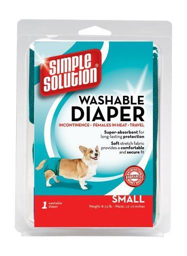 Bramton Pet Tavel Diaper Garment for Dog Soft Super Absorbent Long Lasting Small