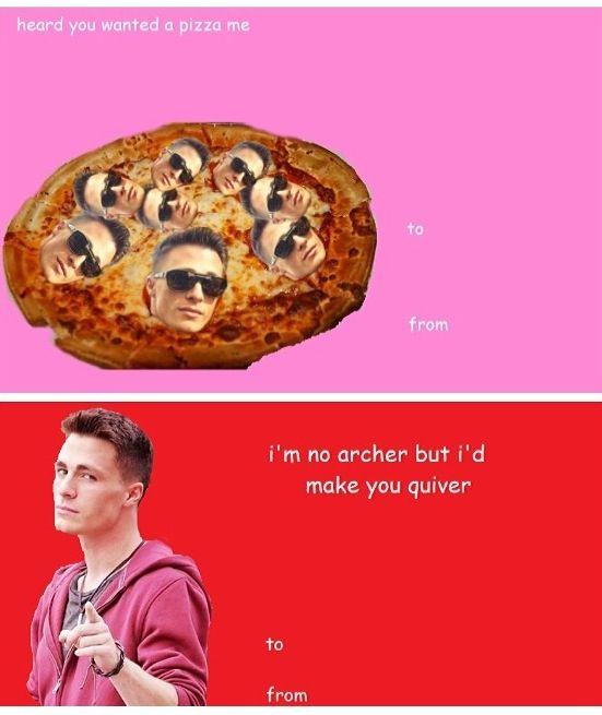 Colton Haynes Valentines Day Card Memes Valentine Day Cards Be My Valentine