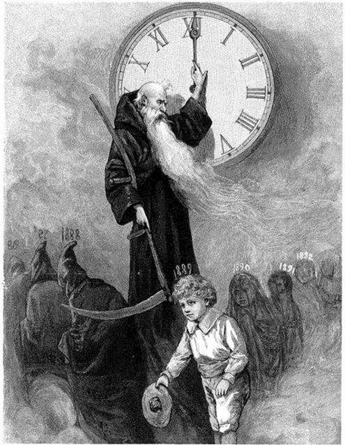 """The key word is time and its correlation to Kronos and Saturn. Saturn is """"Father Time,"""" """"The Harvester,"""" and in astrotheology, Saturn is Satan. Time is what keeps us locked into this 3rd dimensional reality. For example, as evidenced by those who had near death experiences, time does not exist on the other side of the veil. You can read a lot more about Saturn and Kronos in my article, """" Saturn – Why Are We Worshiping The Cult Of EL?""""."""