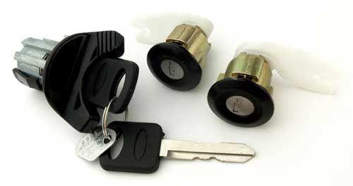 Lock Set Ignition Door 94 95 Mustang Lock Set Mustang Cylinder Lock