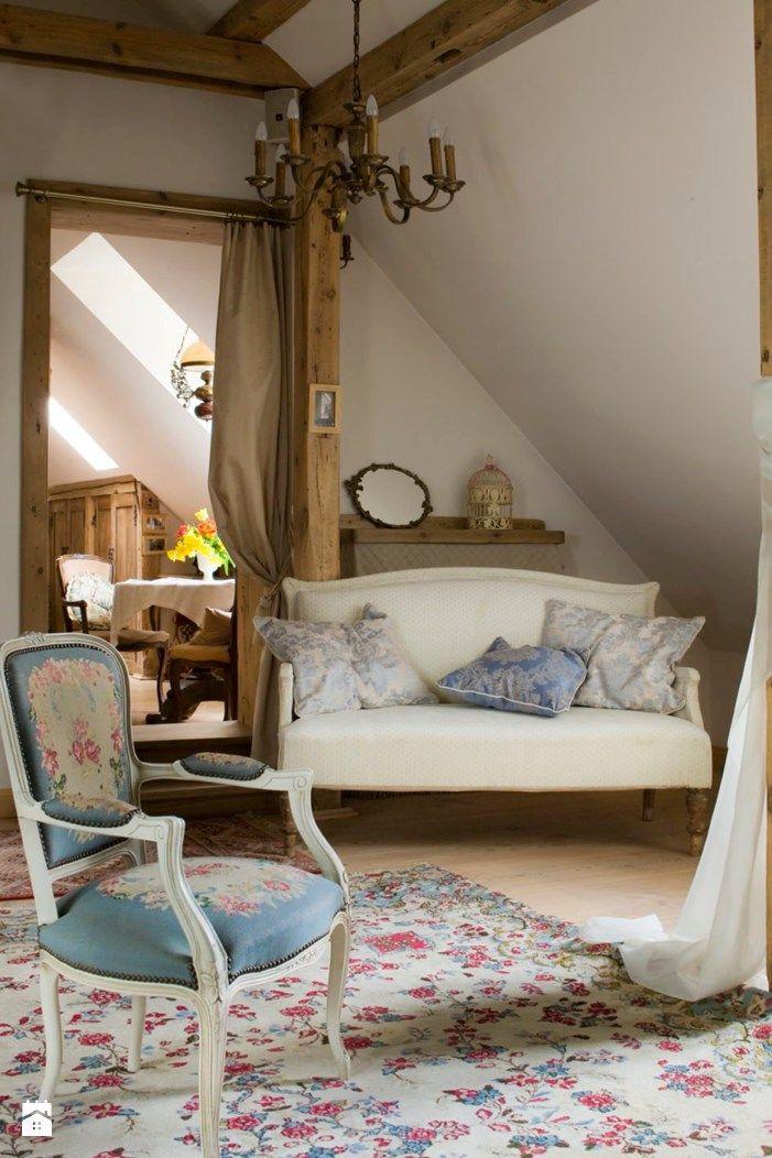 Zdjecie Poddasze Interior Design Cottage Interiors Interior