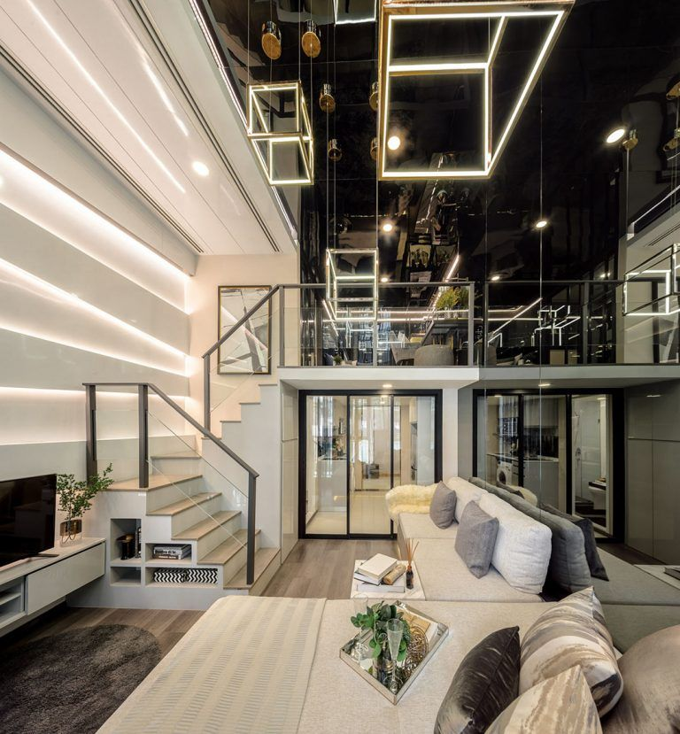 Luxurious Compact Modern Condo Apartment With Double Height