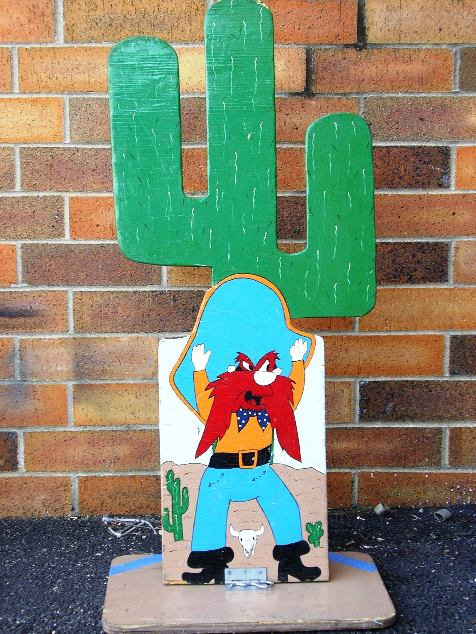 Cactus cowboy chicago party rentals carnival game