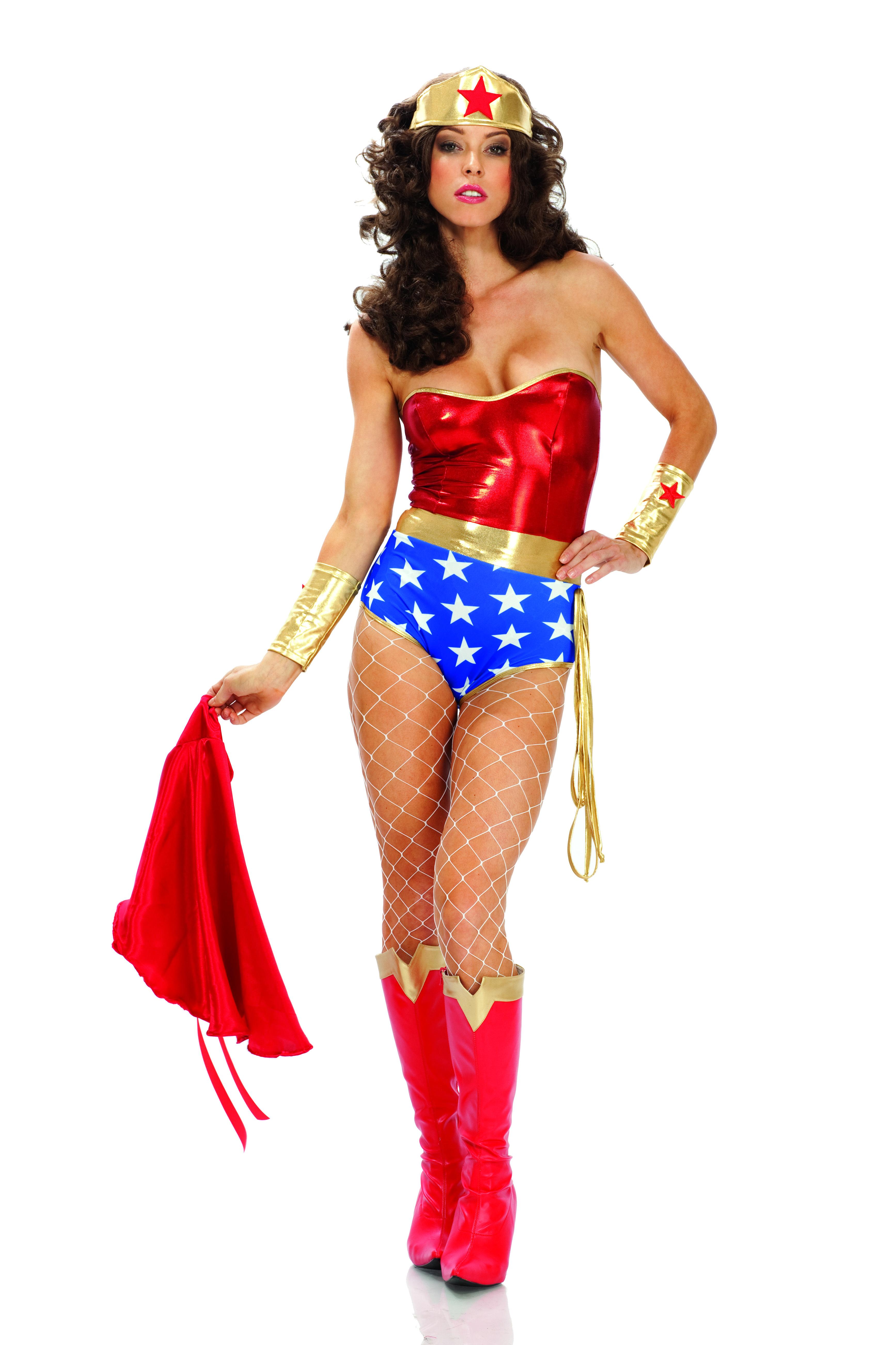Super Seductress Wonder Woman Costume  Womens Costumes -4522