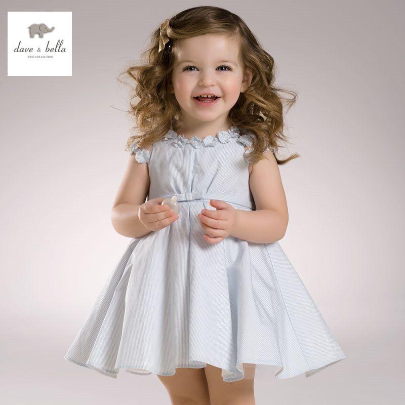DB3296 dave bella summer baby girl pink blue flowers dress ...