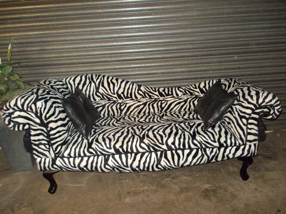 Chaise Lounge Zebraprint Chaiselounge