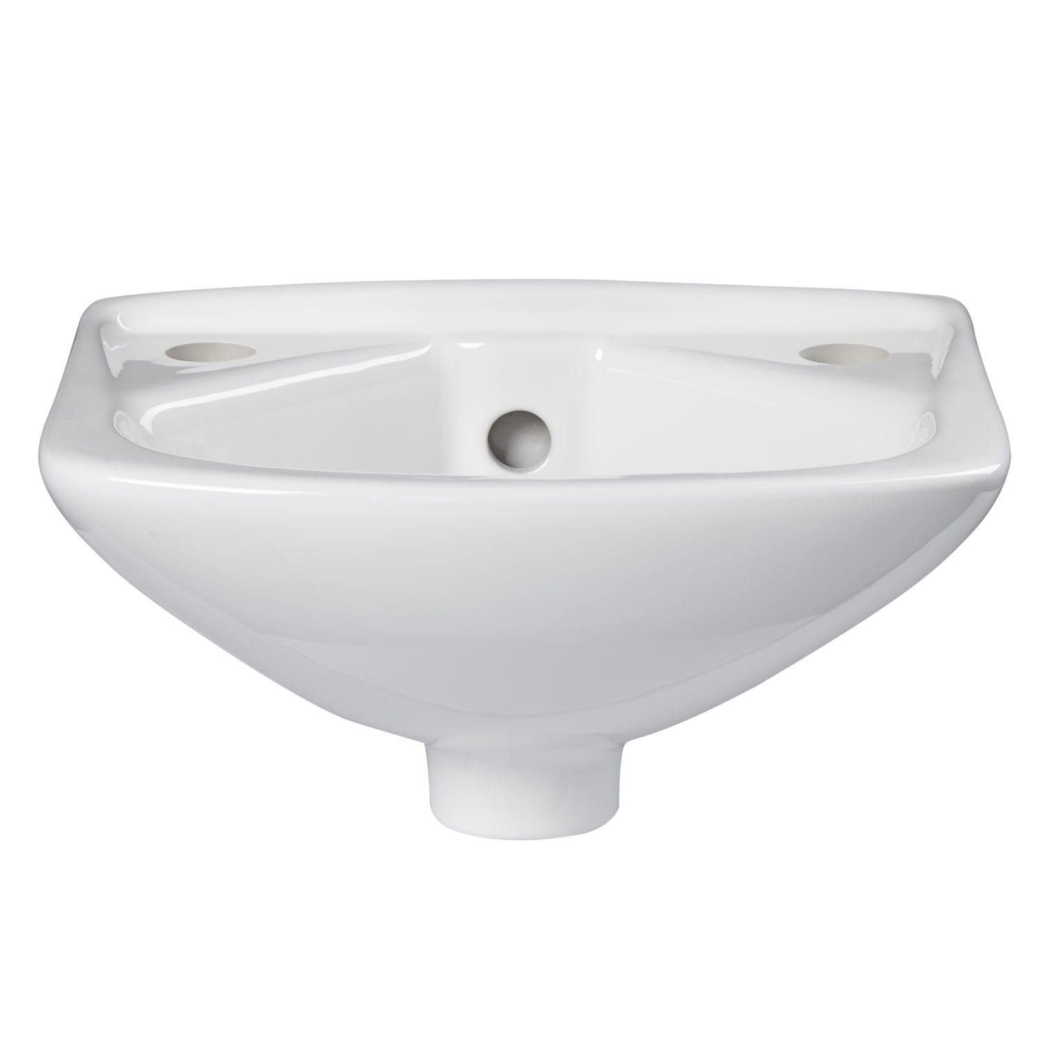 Avona Wall Mount Bathroom Sink This Is The Smallest Sink I Could Find Only 10 Inches Wide Sink Wall Mounted Sink Wall Mounted Bathroom Sinks