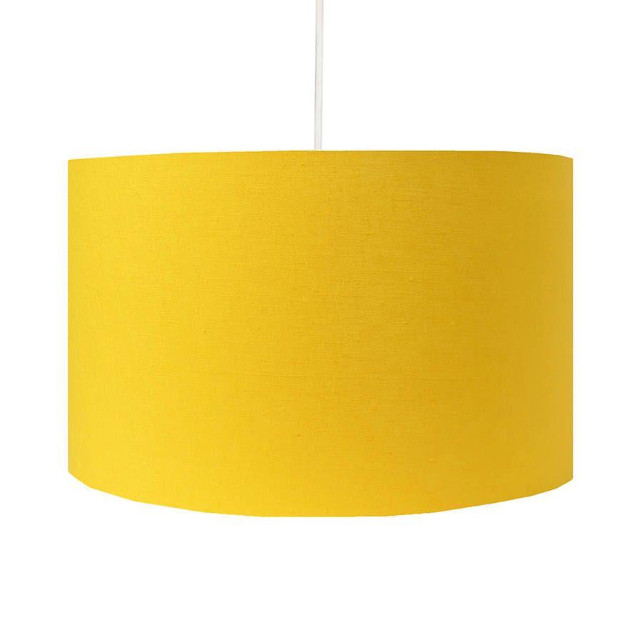 Handmade yellow lamp shade yellow lamp shades lights and room