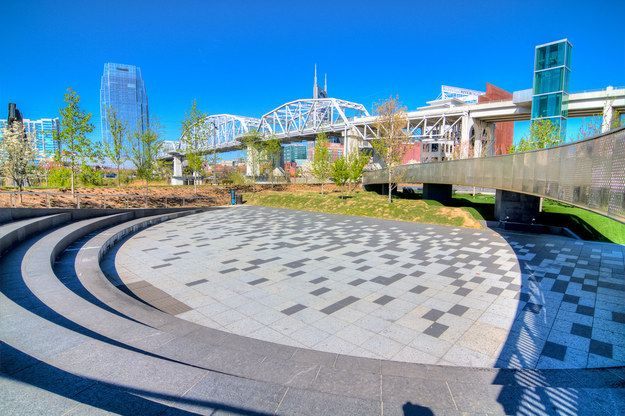 Catch some afternoon rays at Cumberland Park. | 12 Secrets Nashville Natives Don't Want You To Know About