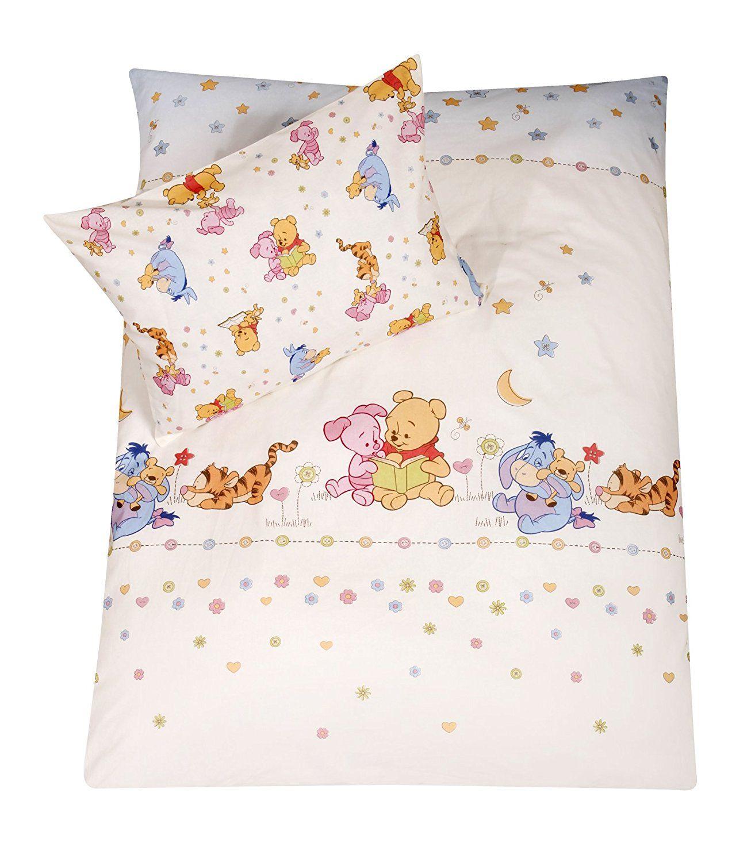 Kinder Bettwasche Stylished Pooh 100 135 Bettwasche Mit