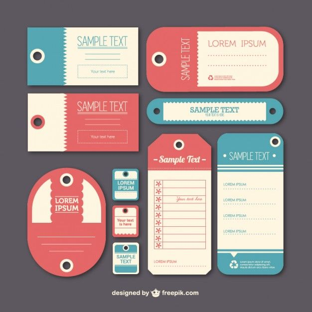 Plantillas de etiquetas vintage Descargar Vectores gratis casa - abel templates psd