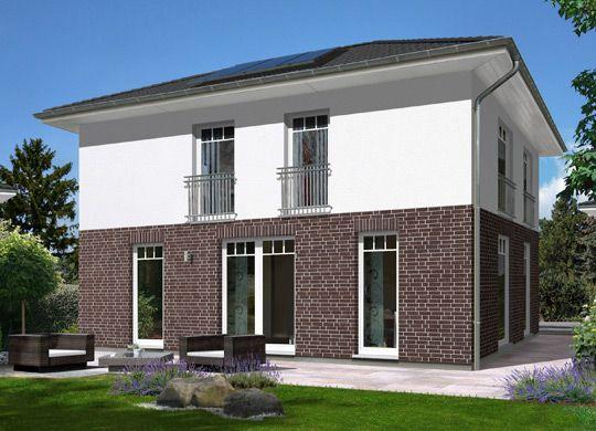stadthaus flair 124 re klinkerriemchen mehr informationen zu den town country haus. Black Bedroom Furniture Sets. Home Design Ideas