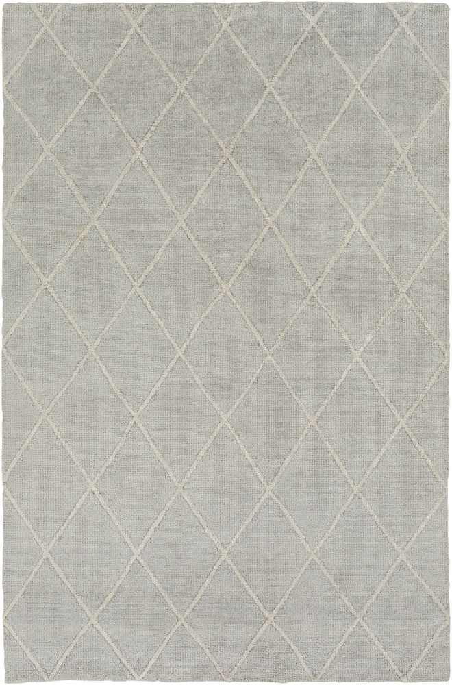 Radersburg 8 X 10 Rectangle Light Gray Area Rug Area Rugs