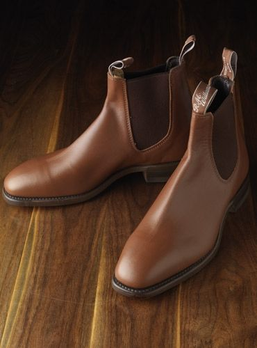 tan dress boots