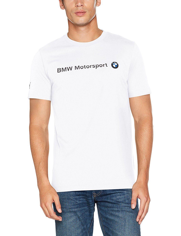 6ee96f5c Puma BMW MSP Men's T-Shirt with Logo Short Sleeved T-Shirt Blue ...