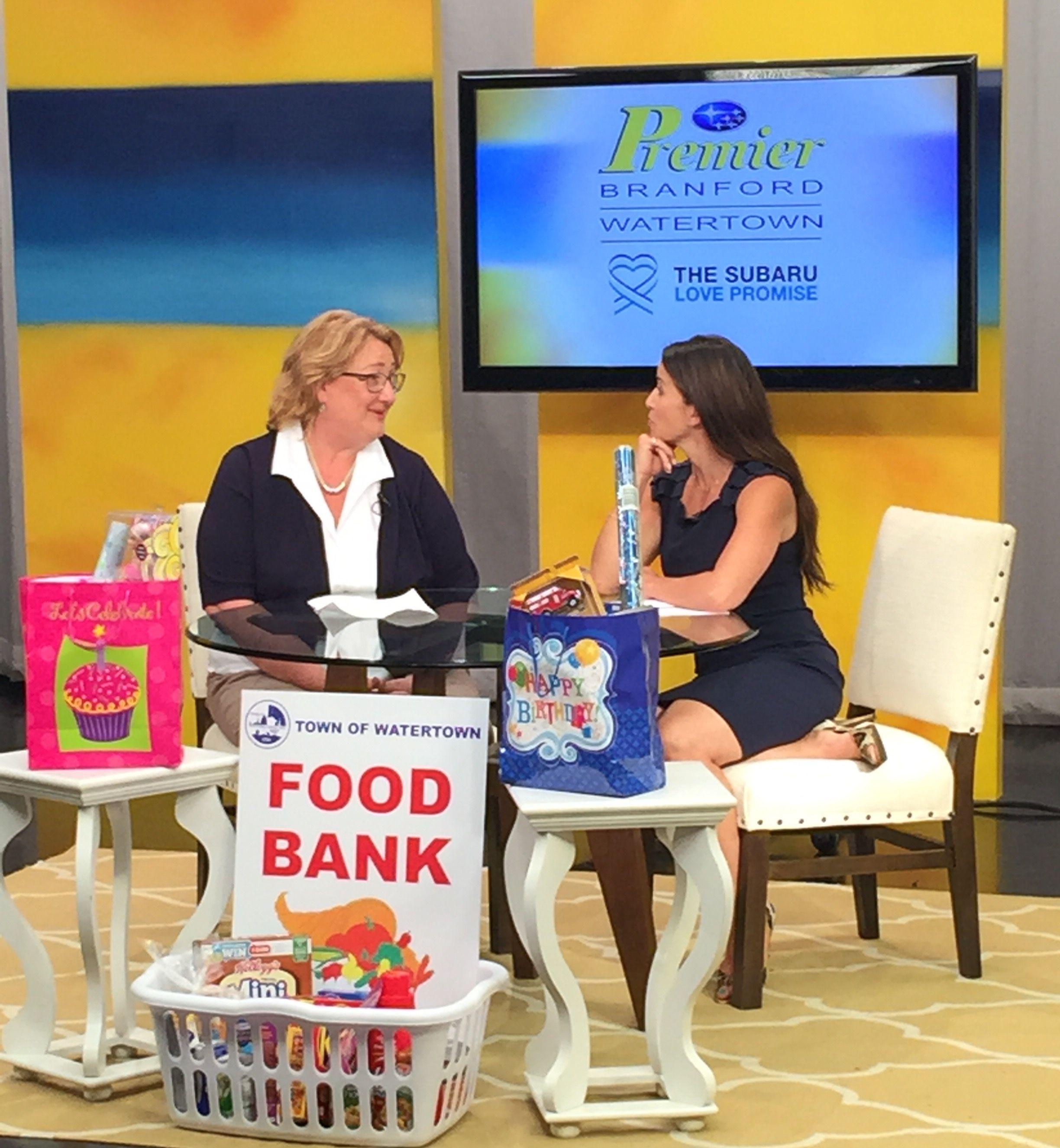 Charity of the month - Watertown Food Bank ! #ShareTheLove
