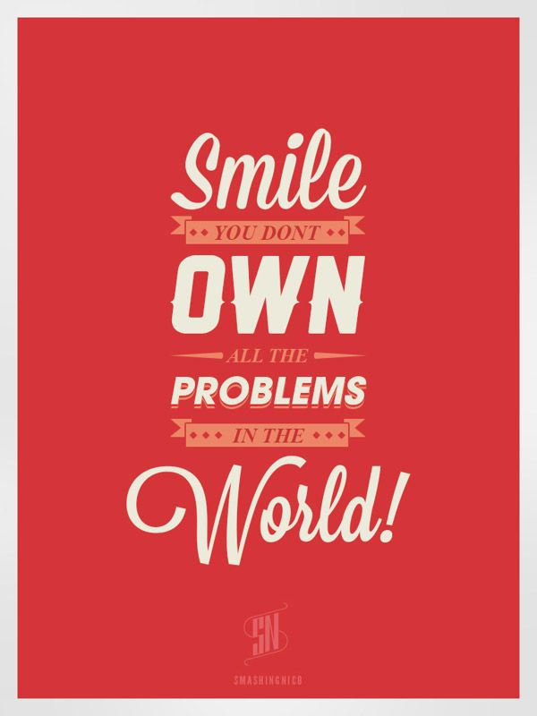 Gentil 7 Ways To Live A Happy Life | Learn Through Typography Posters