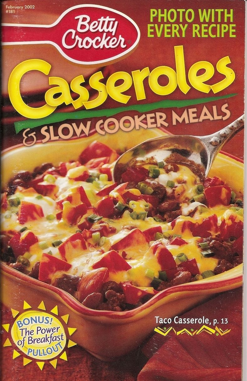 Betty Crockers Slow Cooker Cookbook