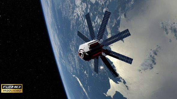 Spy Satellite (Motion Graphics, Backgrounds, Space ...