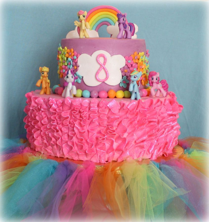 My Little Pony 9th Birthday My Little Pony Cake Little Pony