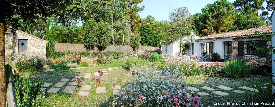 cr er un jardin en bord de mer vivaces gramin es i perennials grasses jardins detente. Black Bedroom Furniture Sets. Home Design Ideas