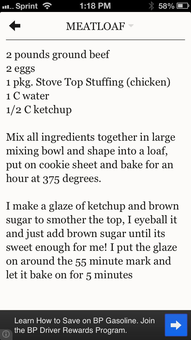 Pin By Sue Travis On Food Good Meatloaf Recipe Meatloaf Meatloaf Recipes