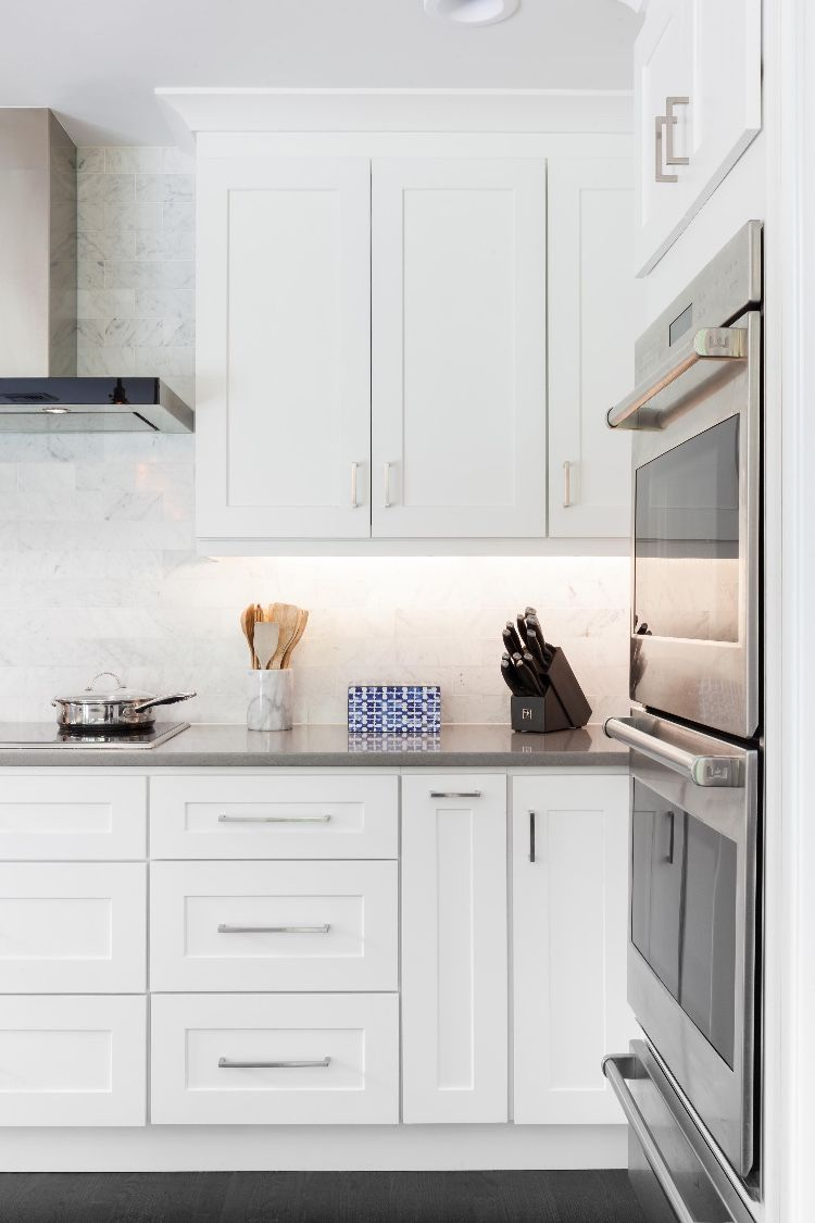 Home Cabinet Westbury S8 Style White Maple Kitchen ...