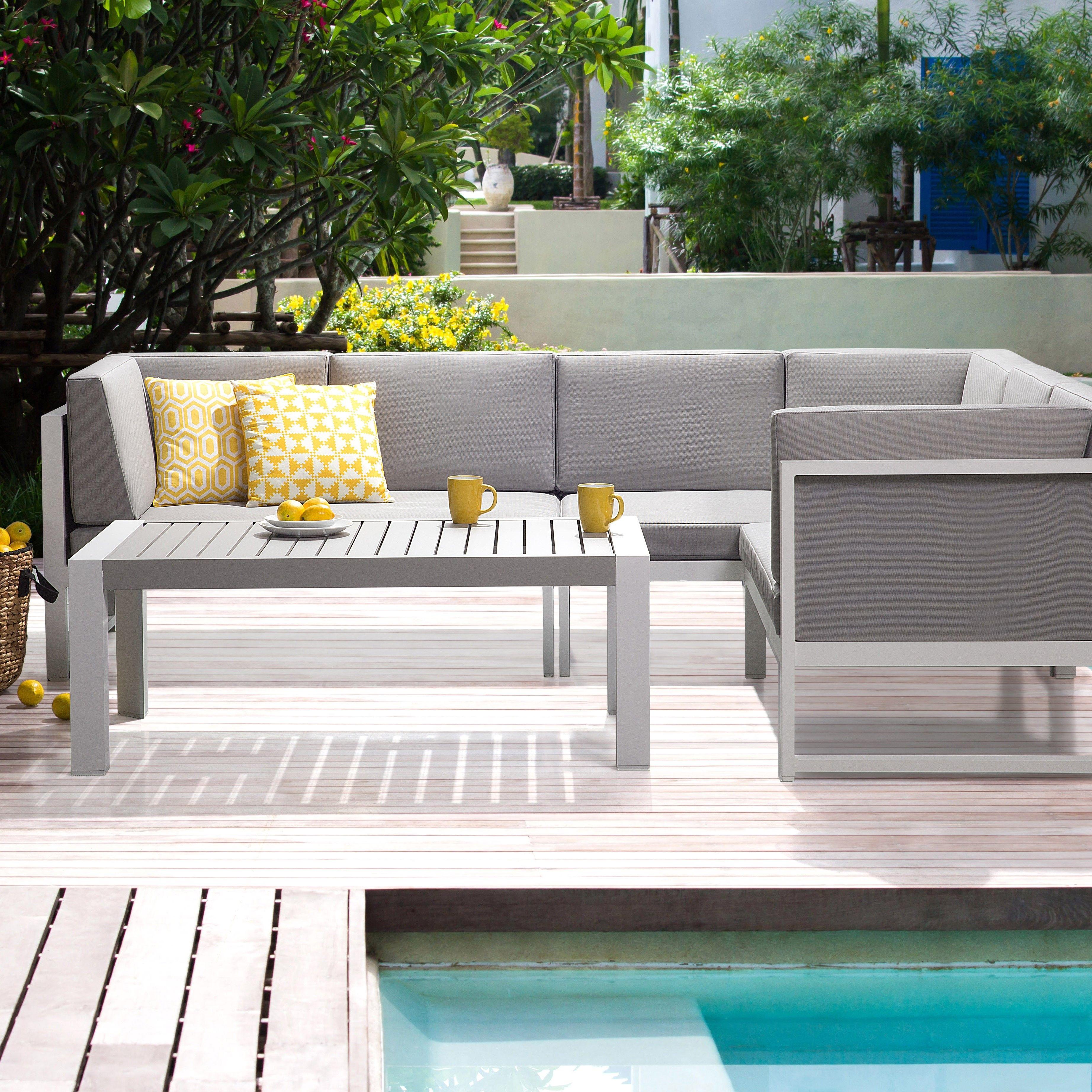 Backes 6 Seater Sofa Set Outdoor Sofa Sets Outdoor Sofa Table Corner Sofa Set