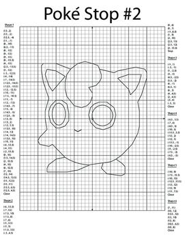 Coordinate Plane Pictures Jigglypuff Coordinate Graph Pictures