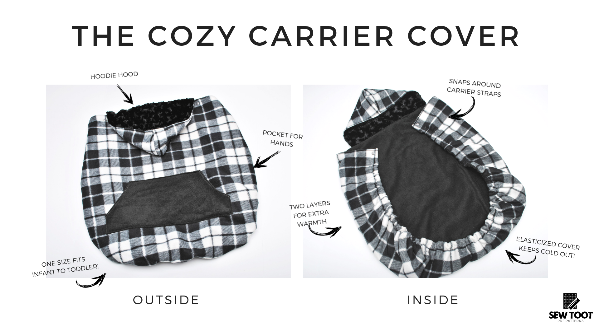 Sew up your own carrier cover with our easy to follow step-by-step ...