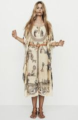 Nanushka - LUXE - Story print dress