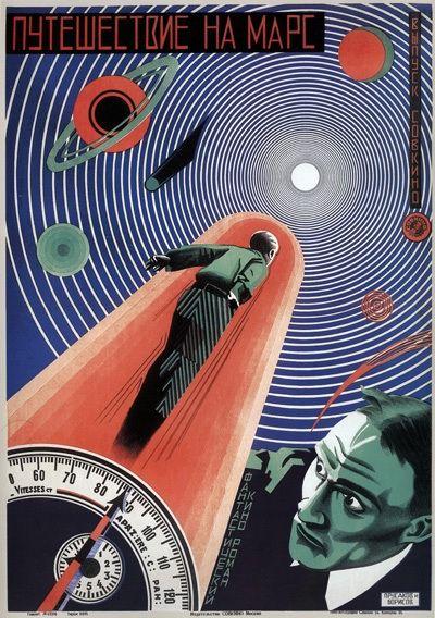 Bildergebnis für soviet science fiction poster