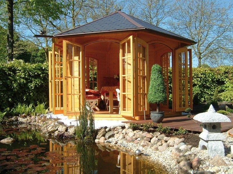 Tonnelle en bois nancy 300 pavillons gazebos chalet de - Maison jardin furniture nancy ...