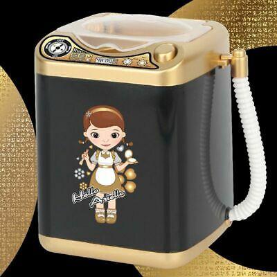 Photo of Mini Electric Washing Machine Dollhouse Toy Very Useful Wash Makeup Brushes  | eBay