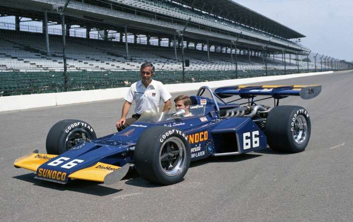 Nel 1972 Mark Donohue regala la prima vittoria alla McLaren e a Roger Penske. pinterest.com