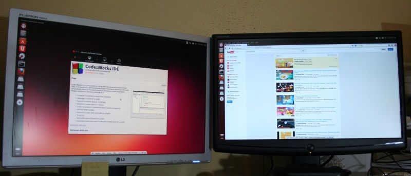 Configuring The Second And Or Third Monitor In Ubuntu With