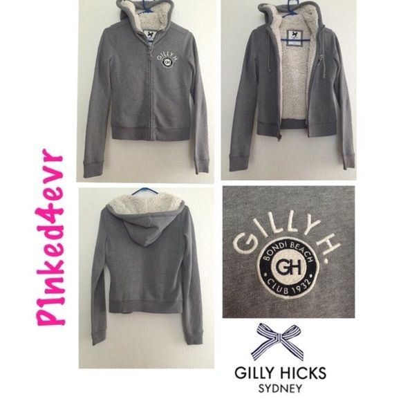 Gilly Hicks Gray Fur Lined Hoodie Size XS Gilly Hicks Gray Fur Lined Hoodie Size XS. Super soft and warm, preowned but cared for in great shape!! Gilly Hicks Tops Sweatshirts & Hoodies