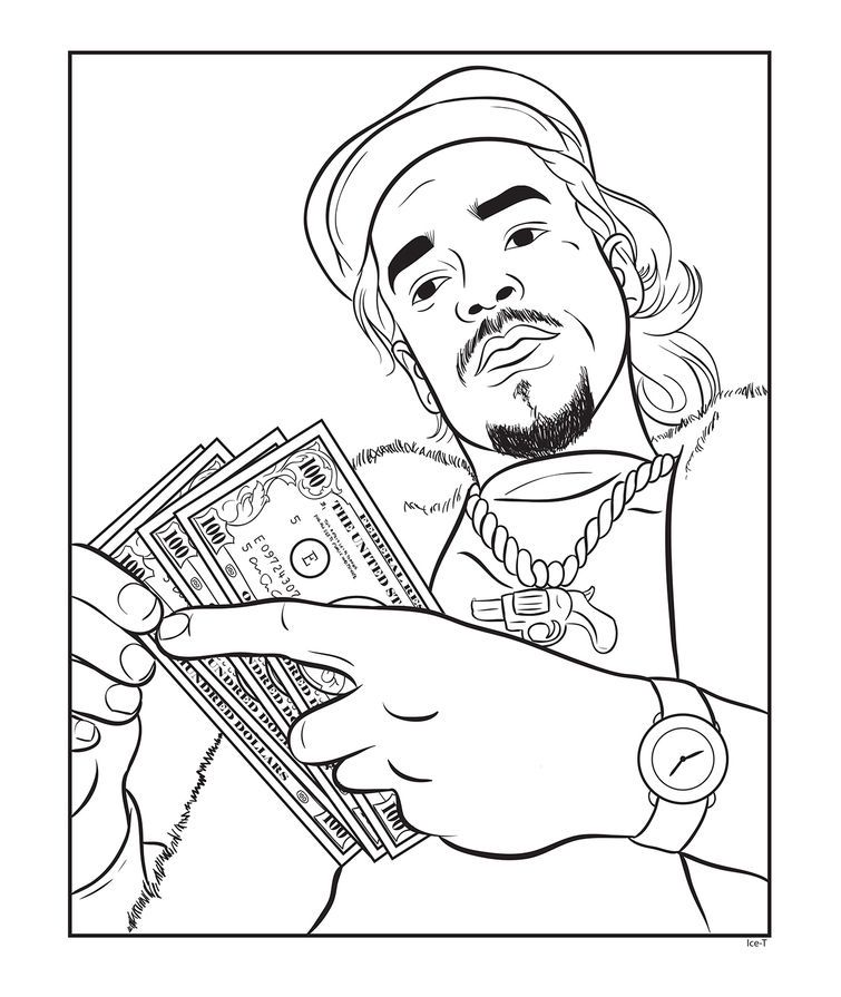 Crafts With Kanye: A New Book Lets You Color In Your Favorite Rappers