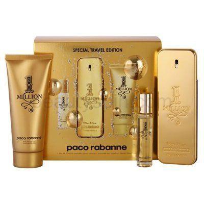 1 Million Fragrance By Paco Rabanne 3pc Travel Edition Gift Set . 3.4 Fl.Oz.