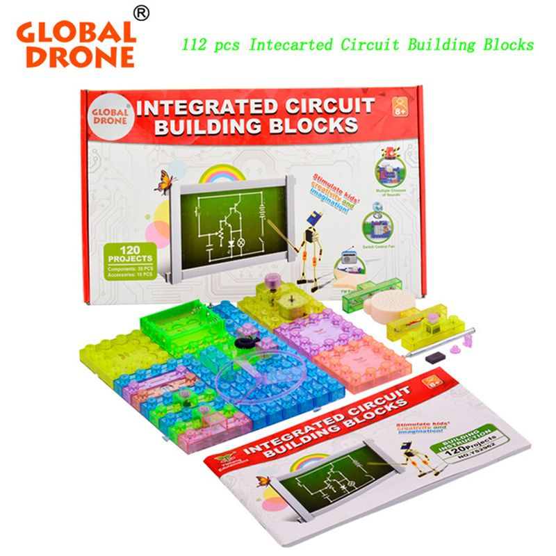 global drone 120 project diy kits integrated circuit building blocks