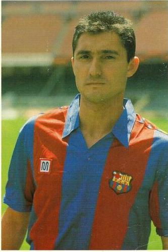 Interviewee #3: Ernesto Valverde, who played under Johan Cruyff at Barcelona in 1988-90