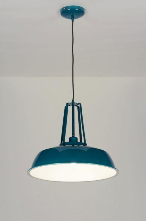 Hanglamp 71844 Modern Retro Industrie Look Eettafellampen