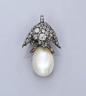 Most Famous Natural Pearls « The 5th Largest Natural Saltwater Pearl – La Regente Pearl