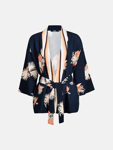 Lang kimono jacka