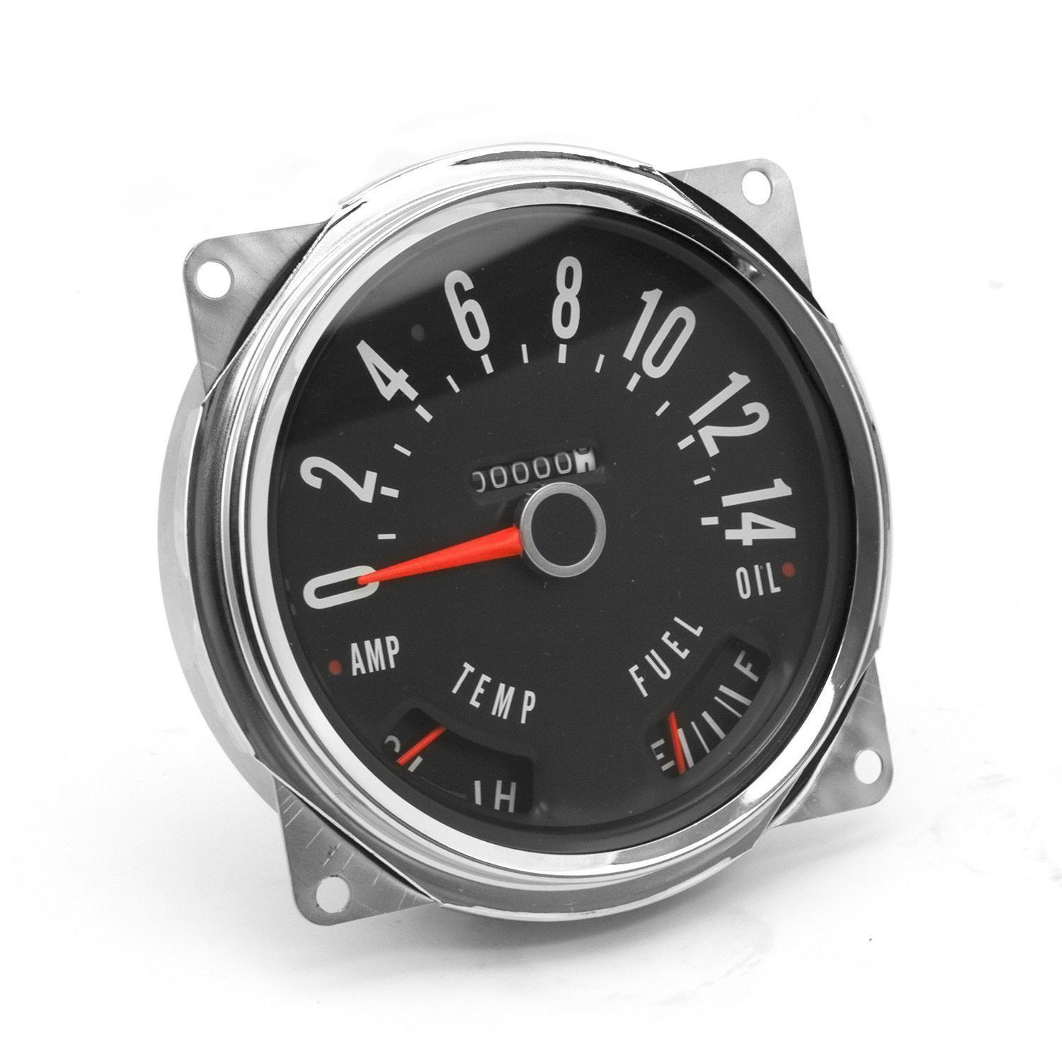 Speedometer Assembly; 55-79 Jeep CJ3B/CJ5/CJ7 | Jeep cj ...